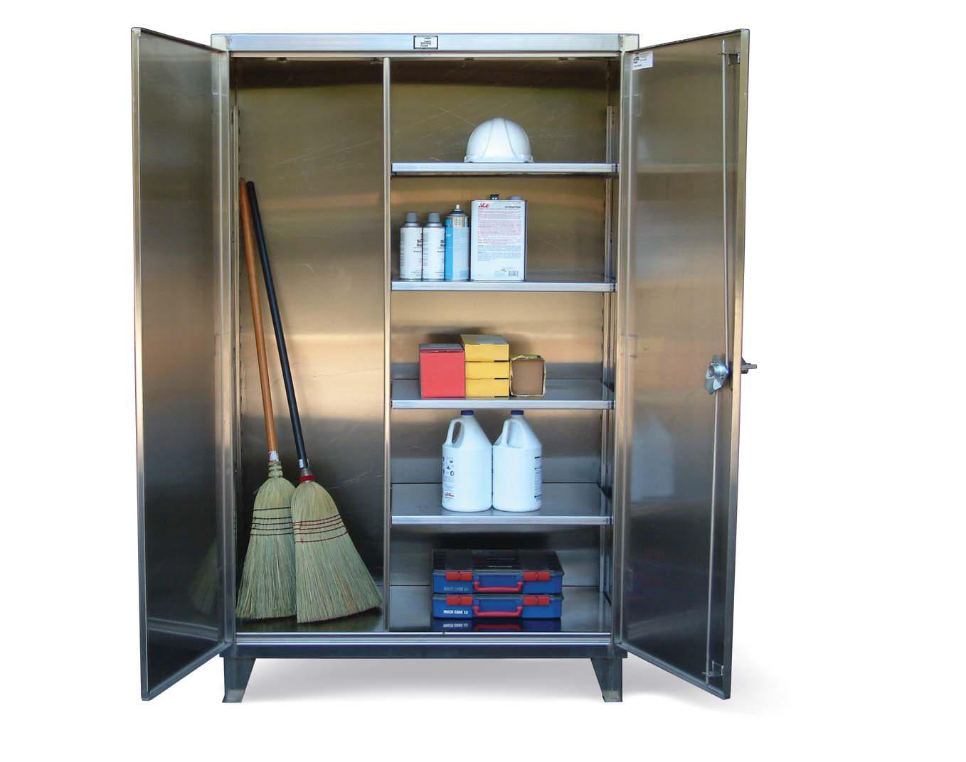 best solution to clean kitchen cabinets broom closet cabinet smart and practical solution to 12215