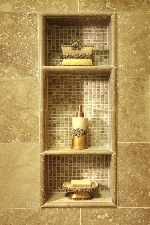 Built-In Shower Shelves as the Practical Way of Storing ...