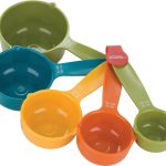 colorful nice wonderful amazing nice adorable measuring cup with small and big size concept made of plastic (2)