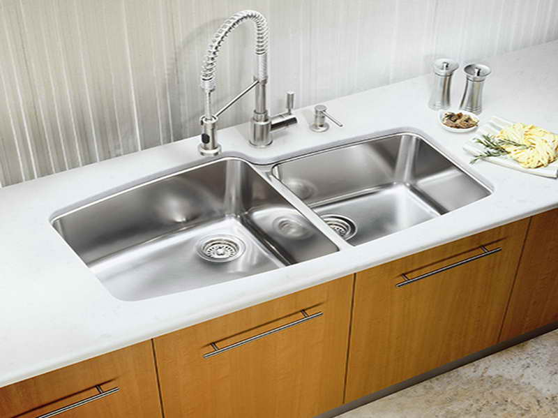 Cool Adorable Nice Wonderful Fantastic Best Stainless Kitchen Sink With Two