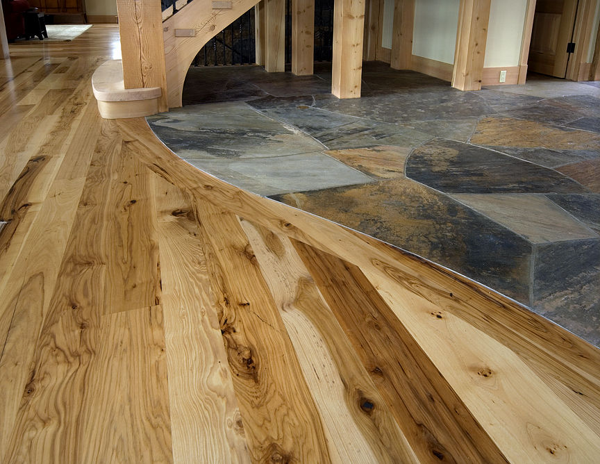 Wonderful And Creative Design Of Tile Wood Floor