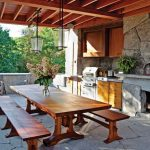 cool amazing nice patio with adorable nice cool classic awesome houzz outdoor kitchen design with wooden made table and chair and nice roofing