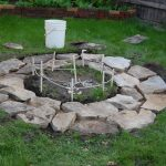 cool amazing nice plan wonderful amazing in-ground-fire-pit with rock flooring concetp design with nice small pit