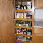 cool classic nice adorable fantastic amazing pull out pantry with brown wooden concept and has nice design with several levels