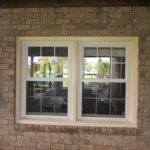 cool design amazing nice wonderful classic elegant small outdoor window trim with dual windows design concept made of wood white color