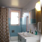 cool nice wonderful fantastic awesome bathroom remodel mid centrury with blue wall accent concept with small room and small vanity