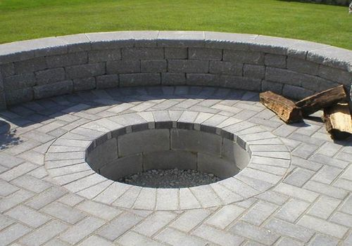 Cool Wonderful Nice Adorable Fantastic In Ground Fire Pit With