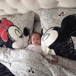 couple cute little mice mickey and minnie mouse bedding