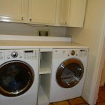 Creative Modern Nice Adorable Cool Wonderful Washer And Dryer Cabinet With Dual Machine And Compact Cabinet Wooden Made 728x523