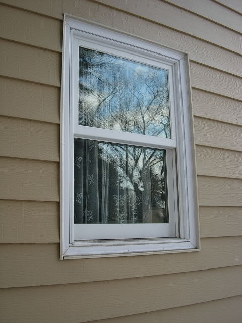 Simple design of outdoor windows trim homesfeed for Outside window design