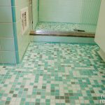creative nice wonderful amazing cool bathroom remodel mid centrury with green floor accent tile concept dsign with small bathroom design