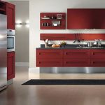 creative nice wonderful amazing fantastic nice modern kitchen cabinet with old brown wooden made concept design and has nice floor
