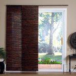 darker window blinds for sliding glass door