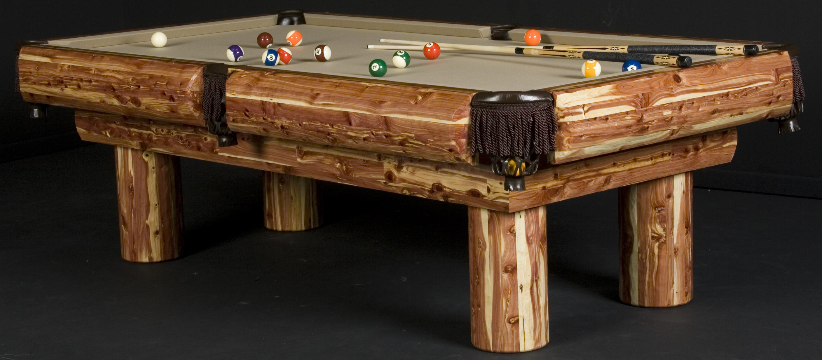 Wonderful unique pool table design homesfeed for Awesome dining table designs