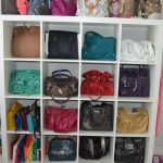 handbag organizer made from wood in white color handbag collections