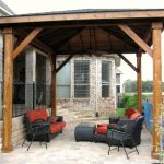 hardwood rooftop for patio comfy furniture for outdoor patio