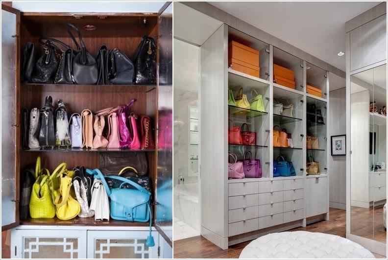 Hand Bag Closet Storage