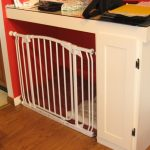 large dog crate ends the table in white with unique door system