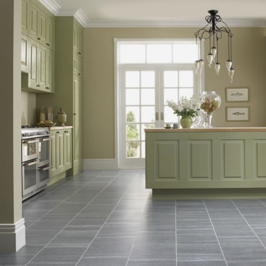 Light Green Kitchen: Choose The Best Flooring Options For Kitchens