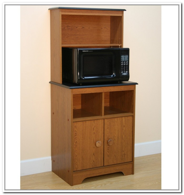 Kitchen Microwave Hutch: Microwave Stands Storage Ikea