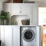 Modern Cool Awesome Nice Elegant Adorable Washer And Dryer Cabinet With White Accent Cabinet Concept Design With Single Washing Machine Storage