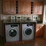 Nice Adorable Modern Cool Fantastic Washer And Dryer Cabinet With Ncie Small Washing Machine Storage Made Of Wood Design 728x485