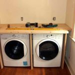Nice Cool Wonderful Simple Small Adorabe Cool Washer And Dryer Cabinet With Double Washing Machine And Compact Wooden Cabinet