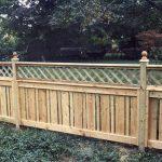 Perfect Nice Adorable Cool Semi Creative Wonderful Lattice Fence Design With Wooden Concept Design Shorter Design For Large Garden Concept