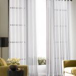Sheer Curtains For Frameless Glass Sliding Door  Green Living Room Furniture Sidetable In Round Shape