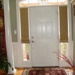sidelight half-window cover for main entrance door beautiful mini entry door rug laminated-planks floor