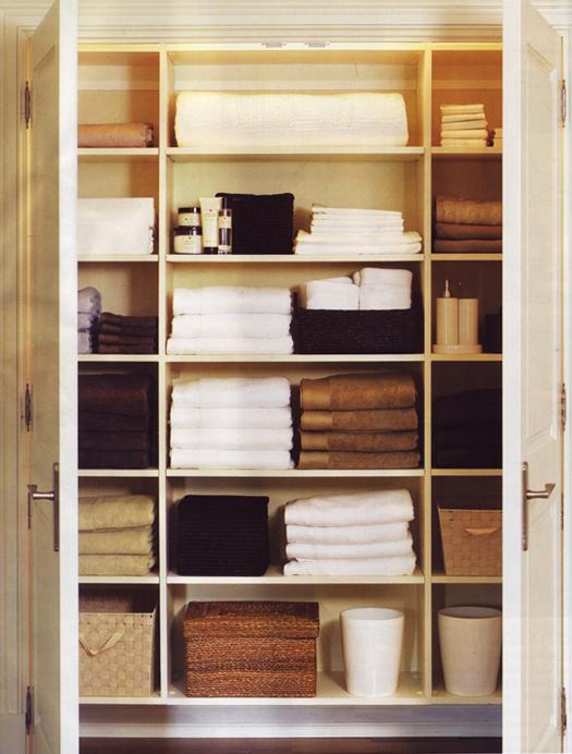 Linen Closet Organizers A Solution To Organize Linens