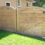 Small Creative Adorable Wonderful Nice Perfect Lattice Fence Design With Wooden Cane Work Concept Design And Has Green Grass 728x544