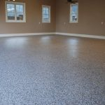 solid-textured epoxy paint for basement floor