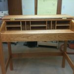standing desk project without finishing coat
