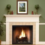wonderful cool amazing nice adorable fireplace mantel idea with Kingston-White-Fireplace-Mantel-Surround-with white color design
