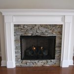 wonderful cool amazing nice fantastic amazing fireplace mantel idea with wooden white frame concept with small brick wall design