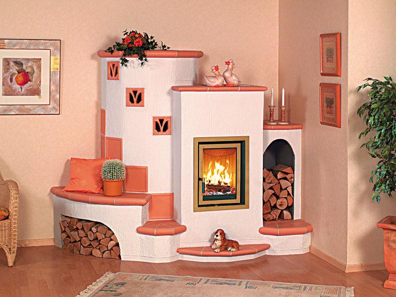 Corner Wood Burning Stove Functional And Interior
