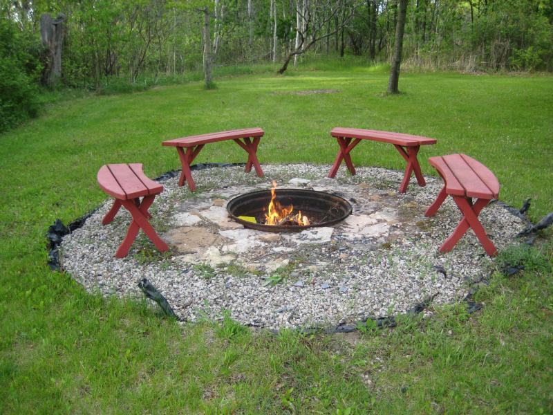 Clic And Modern Design Of In Ground Fire Pit Homesfeed