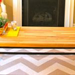 wonderful-nice-adorable-cool-fantastic-nice-modern-butcher-block-coffee-table-with-dual-metal-legs-design-with-nice-modern-wooden-surface