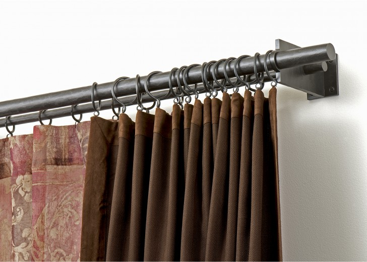 Various Concept Design Of Half Curtain Rods Homesfeed