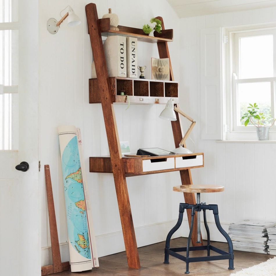 Ladder Desk Ikea Simple Solution For Workstation As Well