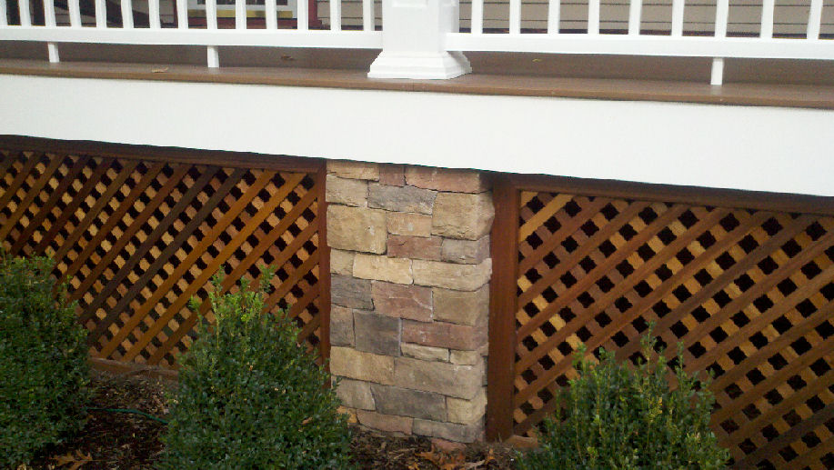 Porch Skirting Ideas To Cover Unappealed Space Porch