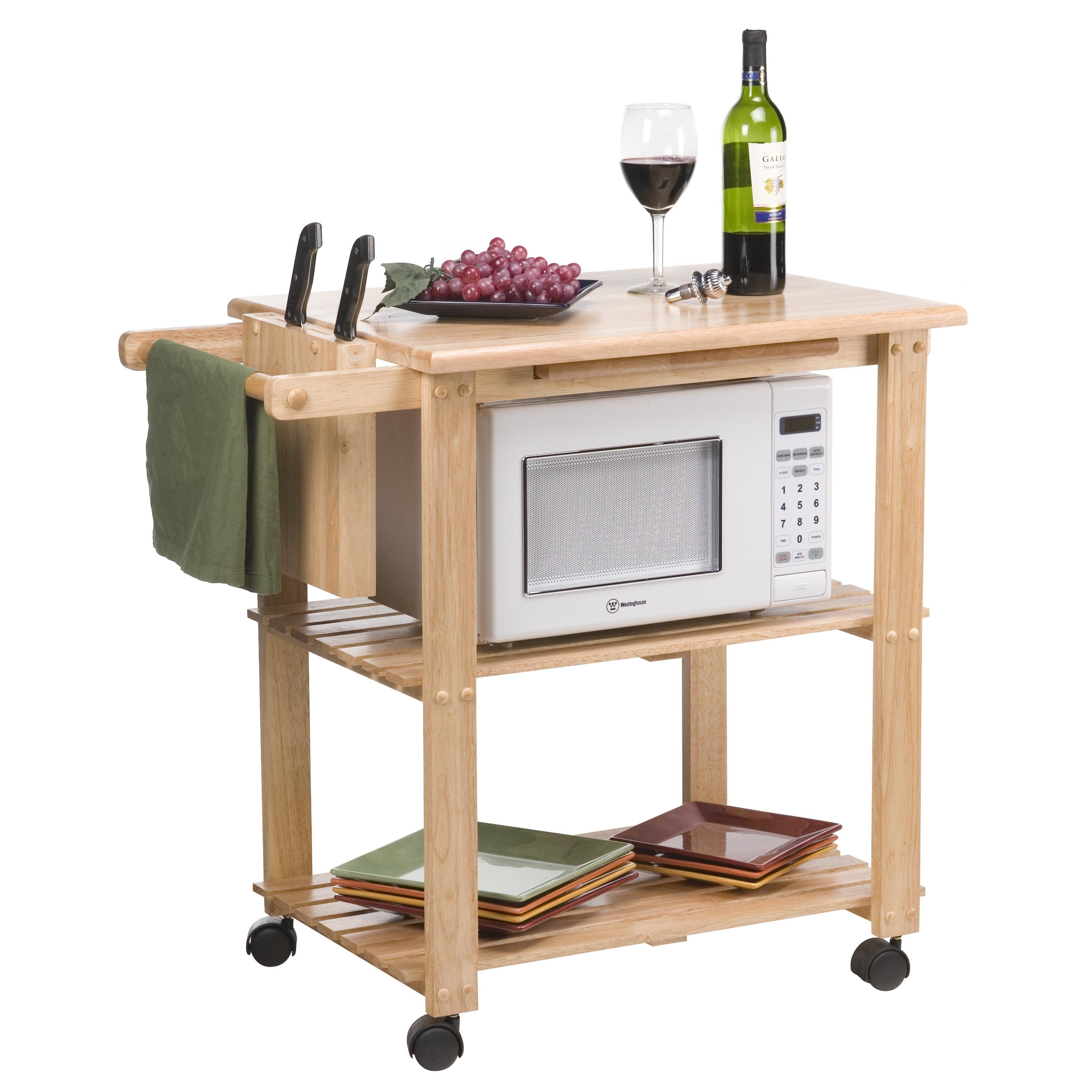 Microwave Cart Ikea: Make It as A House for Your Microwave ...