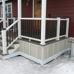 wood planks for under porch skirting