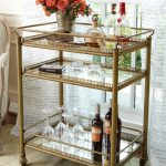 adorable-classic-nice-wonderful-cool-rustic-bar-carts-with-nice-metal-concept-with-brown-coloring-frame-with-some-wheels