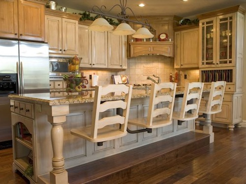 kitchen island with bar seating adorable design of kitchen island with bar seating homesfeed 8234