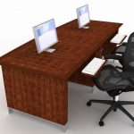 adorable-cool-nice-fantastic-perfect-two-person-desk-two-person-desk-with-nice-wooden-brown-concept-and-has-two-modern-chair-with-two-computer-desktop-728x504