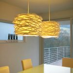 Adorable Nice Cool Ikea Hack Make A Diy Mod Pendant Light Man Made Diy Crafts With Paper Design And Yellow Coloring Choice