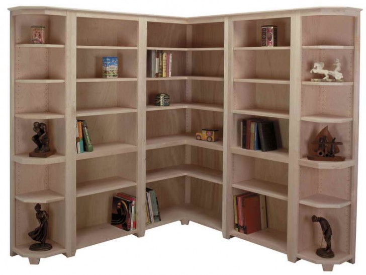 brand new d4090 8263d The Most Adorable Corner Bookshelf Design for You | HomesFeed