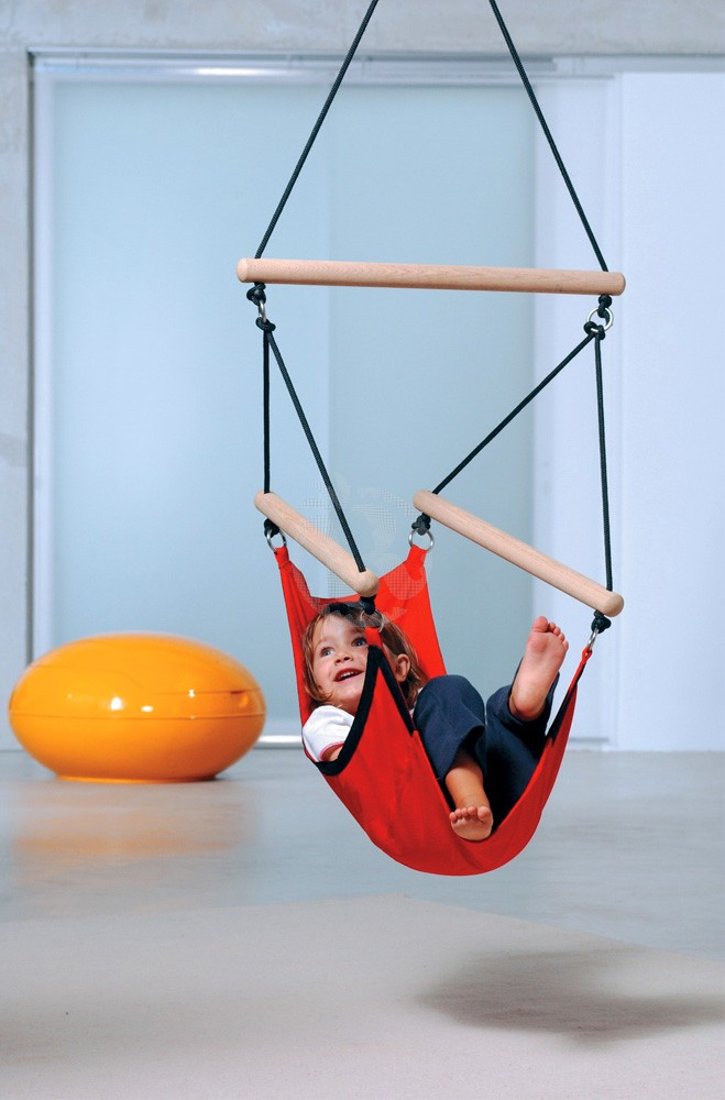 Colorful choices of hanging chairs for your kids homesfeed for Small chair for kid